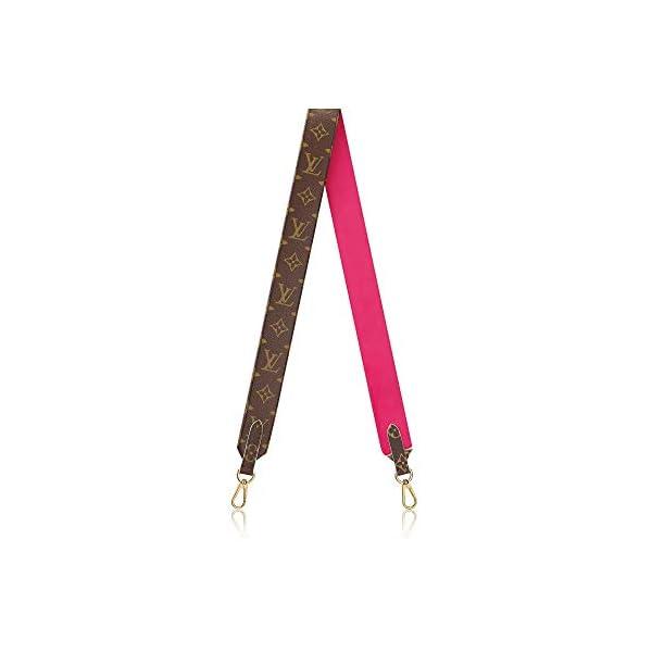 Fashion Shopping Louis Vuitton Handbag Strap Bandouliere Monogram Pink J02285