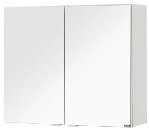 Held Möbel 336.0001 Siena Spiegelschrank 2-türig 2 Einlegeböden, 60 x 65 x 20 cm, weiß