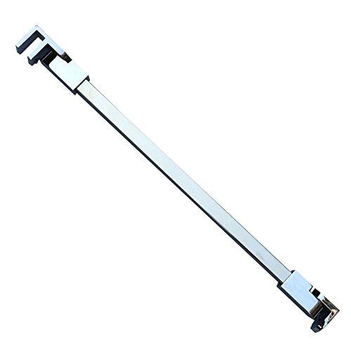 60 cm stainless steel Frameless Shower Door Fixed panel wall-to-glass Support bar for 6mm 8mm 10mm spessore vetro da m-home