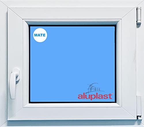 Ventana PVC 600x500 Oscilobatiente Derecha Vidrio Mate