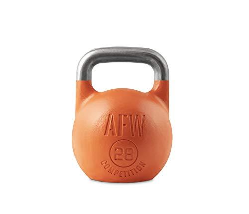 AFW Competition Kettlebell, Kugelhantel, Unisex Erwachsene, Unisex-Erwachsene, 19152, orange, 28 kg