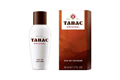 Tabac® Original I Eau de Cologne - Original Seit 1959 - würzig-frisch - dezente männliche Pflege - zeitloser Männerduft I 50ml Splash
