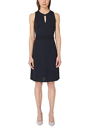 s.Oliver BLACK LABEL 11.904.82.7330 Vestido de Fiesta, Azul (True Blue 5959), 36 (Talla del Fabricante: 34) para Mujer