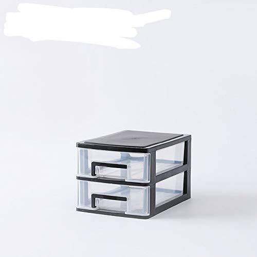 MSNLY Transparent desktop storage box small drawer desk storage cabinet plastic mini storage box cosmetic storage box