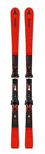 ATOMIC Herren Ski Redster G7 rot schwarz FT 12 GW Bindung Skiset, Größe:161