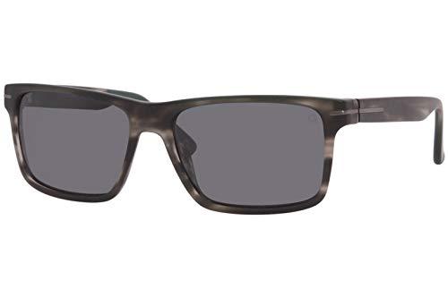 Etnia Barcelona Gafas de Sol JEFFERSON Grey Havana/Grey Blue Hd 57/16/145 unisex