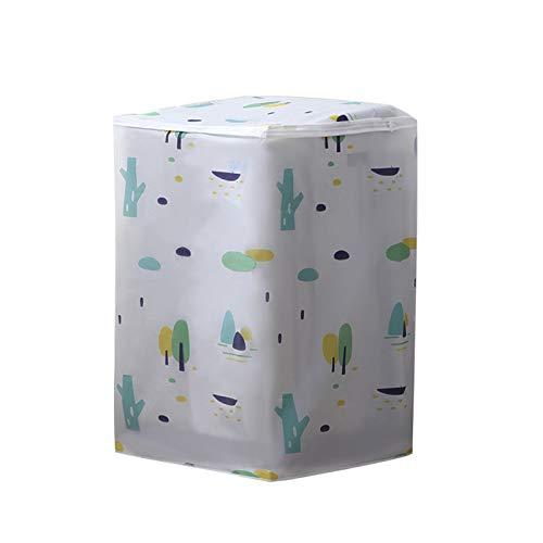 ZECAN Cubierta para Lavadora, Cubierta Impermeable A Prueba De Polvo para Protección De Lavadora De Carga Frontal, Cubierta Protectora Antienvejecimiento para Lavadora