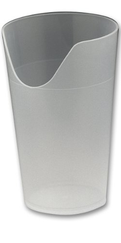 Adlatus 80214 beker met neusuitsparing, 0,25 l