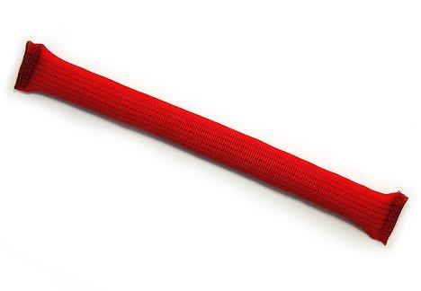 leerburg Griffe Tug keine Stahlrohr, 38,1cm lang mit 10,2cm Umfang, rot