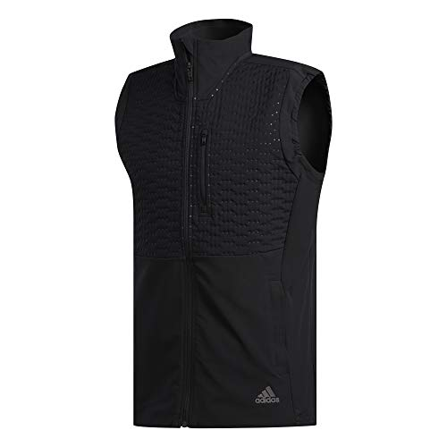 adidas Runr Vest M Chaleco, Hombre, Negro, 2XL