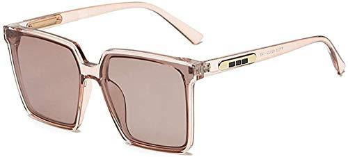 Versión coreana de grandes gafas de sol polarizadas cuadradas moda simple sol marea gafas de sol
