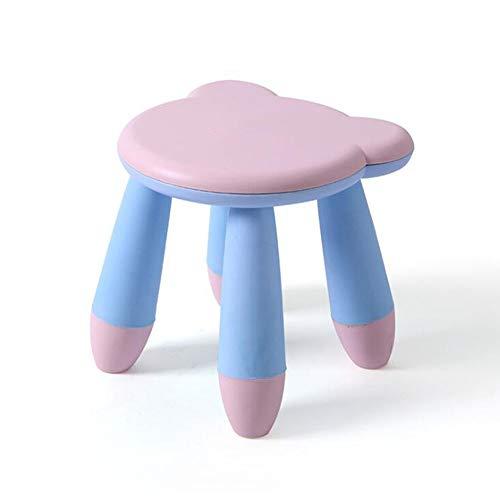 Good KK Heces jardín de Infancia de los niños del bebé de Aprendizaje Taburete de plástico Juego de Asiento extraíble,C