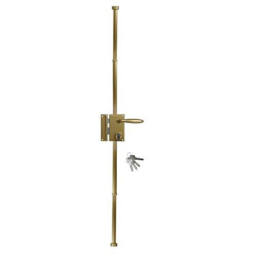 Bricard 74623 - Cerradura vertical (3 puntos), color dorado