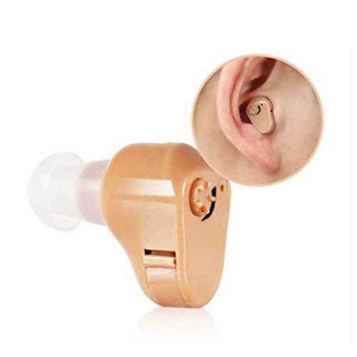 In het oor hoorapparaat geluid versterkerinrichting Hörverstärker stealth gehoorgang draadloze hoortoestel geschikt for ouderen