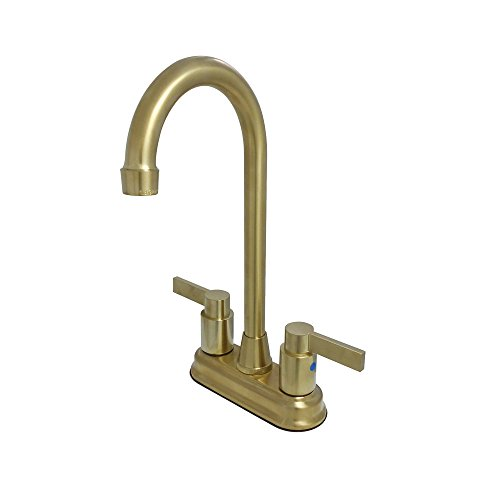 Kingston Brass NuvoFusion Centerset Bar Faucet