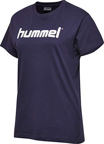 Hummel Damen HMLGO Cotton Logo T-Shirts, Marine, L