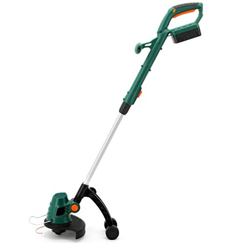 Purchase ZXYSR Cordless Weed Trimmer with Battery and Charger,18Vtelescopic Lightweight Powerful Gra...