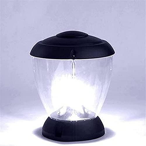 Waqihreu Lámparas de Poste Impermeable al Aire Libre Lámpara de Columna anticorrosión Europea Linterna de Vidrio Transparente Lámpara Garaje Pabellón Patio Iluminación Camino Pastizales Luces de Piso