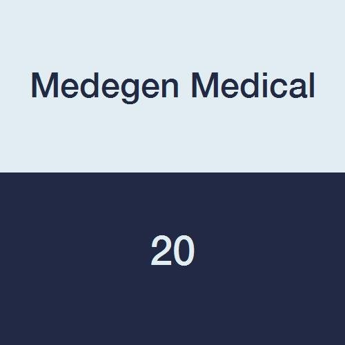 Medegen Medical 20 Soap Dish with Pack of Max 79% OFF Drain Blue Tray 24 Direct sale manufacturer