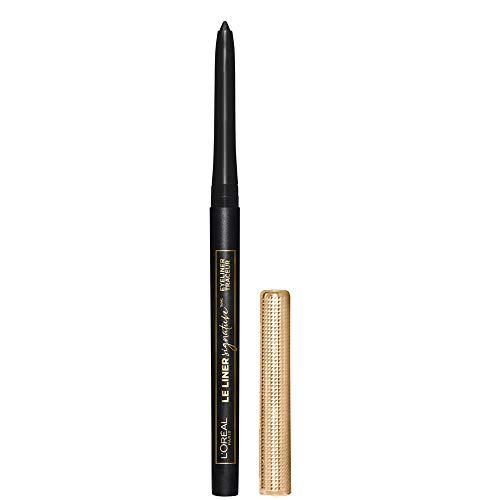 L'Oreal Paris Makeup Le Liner Signature Mechanical Eyeliner, Easy-Glide, Smudge Resistant, Bold Color, Long Lasting, Waterproof Eyeliner, Noir Cashmere, 0.011 oz., 1 count