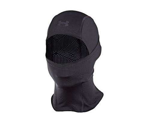Under Armour Men's ColdGear Infrared Tactical Hood, Black (001)/Black, One Size Fits All