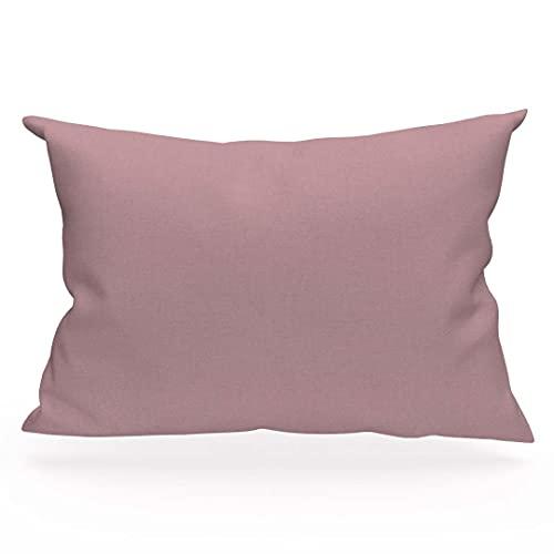 Atmosphère Zzz - Funda de Almohada (50 x 70 cm), Color Rosa