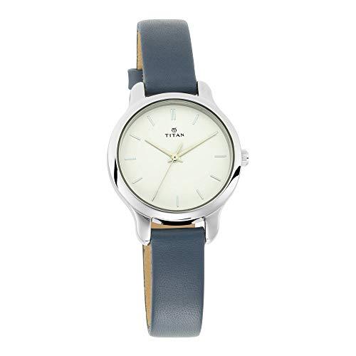 Titan Neo Analog White Dial Women's Watch 2481SL10/NN2481SL10