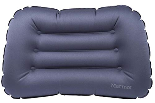 Marmot Cumulus Pillow opblaasbaar luchtkussen, reiskussen, licht en compact, vintage blauw, één maat