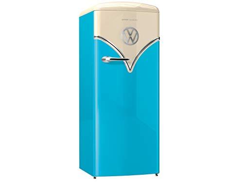 Goreje OBRB153BL Kombi-Kühlschrank 254 L A+++, frei stehend, Türanschlag rechts, drehbar, Türmaterial Kunststoff