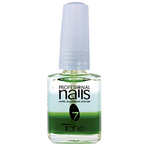 Tahe - Professional Nails - Base à l´huile hydratante pour ongles qui se dédoublent, hypoallergénique, n°7, 15ml