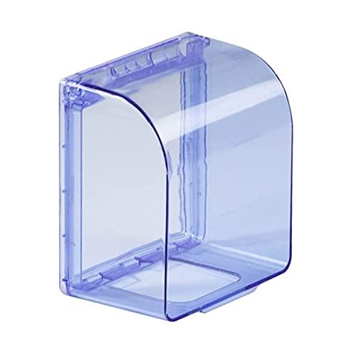 FENGYZ Caja de Conexiones 1 unids 86 Tipo Calentador de Agua Zócalo de Pared Salpicaduras a Prueba de Salpicaduras Protección de Fugas a Prueba de Agua Caja a Prueba de Agua Renovación (Color : Blue)