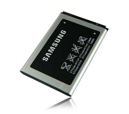 Samsung - Batteria originale M&L Mobiles AB043446 - AB463446 per Samsung GT-E1050 / GT-E1070 / GT-E1150 / GT-E2210 / GT-E2330 / GT-S3100 / GT-S5150 Glamour / SGH-C520 / SGH-E250i / SGH-E520 / SGH-E870 / SGH-F250 / SGH-X510v