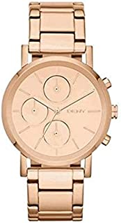 DKNY Chronograph For Women - Analog Stainless Steel Band Watch - NY8862