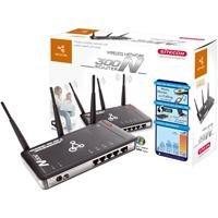 Sitecom WL-183 Wireless Network 300N Router IAS Fast 4 x RJ45 Switch 1 x DSL/Cable AP