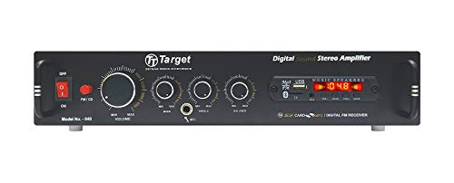TARGET - TT - 640 HIGH POWER STEREO AMPLIFIER With USB,AUX,MIC,BLUTHOOTH,AV,2RC-BUILT IN BLUTHOOTH WITH 4440 DOUBLE IC CIRCUIT POWER AV AMPLIFIER PERFECT FOR HOME AND OUTDOOR
