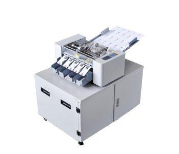 A3+ cortador de papel multifunción para tarjetas de visita, cortador de papel de 225 piezas/min 90-260 V papel especial máquina de corte de fotos (caja de hierro)
