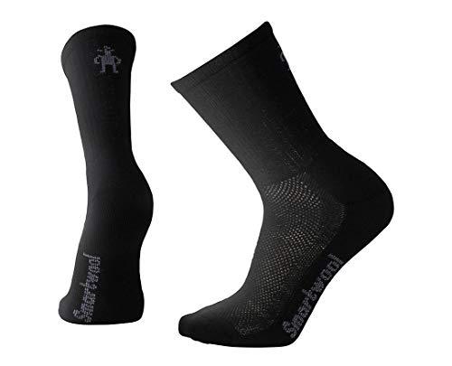 Smartwool Herren Socken Strümpfe Hike Ultra Light Crew, Schwarz (Black), 42-45 (Herstellergröße:L)