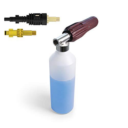 IDROBASE Piuma Stylo pistola a presion agua para hidrolimpiadora de alta presion. Lanza hidrolimpiadora lavado de coches. Compatible limpiadoras a presión Annovi Reverberi, Nilfisk, Alto, Germi y Kew