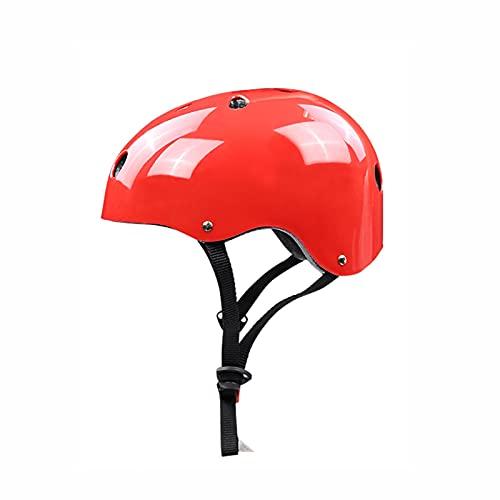 Casco de Bicicleta para niños,Casco de monopatín Ajustable,Casco Bicicleta para niños y niñas,Casco de Seguridad para Patinaje en Bicicleta,para niños de 3 a 8 años