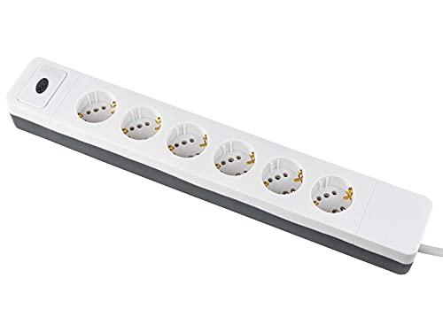 REV Combi Multiple Socket Outlet 6-fold 1,4m marca REV
