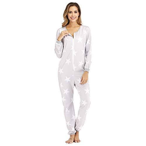 Pijamas de Moda Pijamas Suaves Pijama De Moda para Dormir En General para Mujer, Manga Larga, Primavera Otoño, Atuendo P