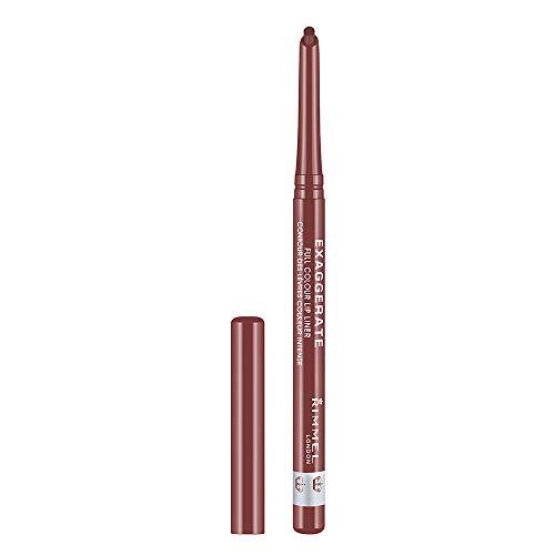 Rimmel London Lip Liner, Rosy-Plum, 1er Pack, 0.25 g