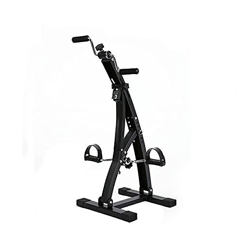 GJQDDP Bicicleta Estática Bicicleta, Equipo De Entrenamiento De Rehabilitación De Piernas para Ancianos Y Personas Mayores, Equipo De Fisioterapia Interior con Resistencia