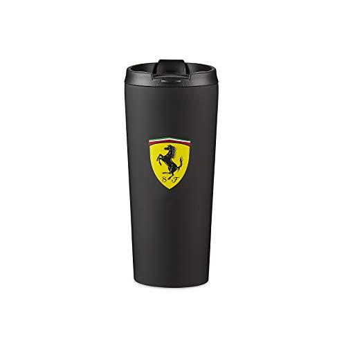 Scuderia Ferrari F1 - Taza térmica, color negro