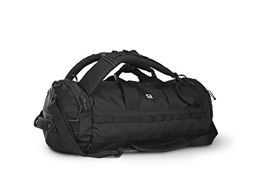 OGIO Alpha Convoy Eco-Friendly Duffel Pack 32 with Backpack Straps and Shoulder Strap, Black, 32 Litre Capacity