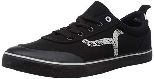 Flying Machine Men's Fmach Black Sneakers-10 UK (44 EU) (11 US) (2551907605)