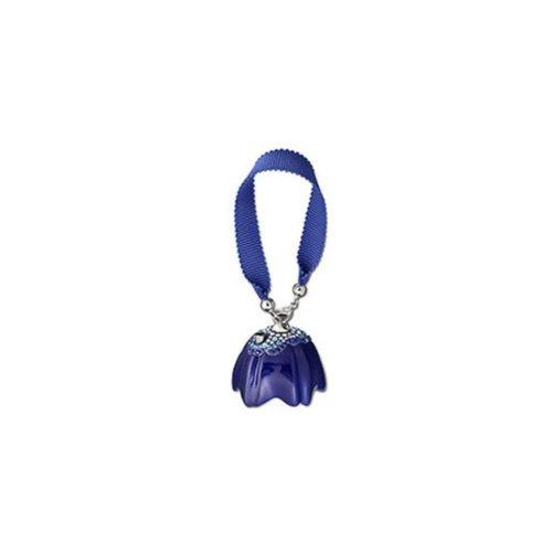 Swarovski Damen-Schmuck-Anhänger Blue Wild Blossom Mini-Taschenlampe 3.4x3.3 cm 1079499