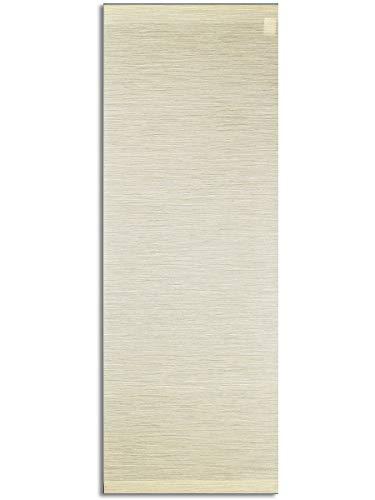 SeGaTeX home fashion Moderner Schiebevorhang Flächenvorhang Marian Paneele in Bambusstruktur beige