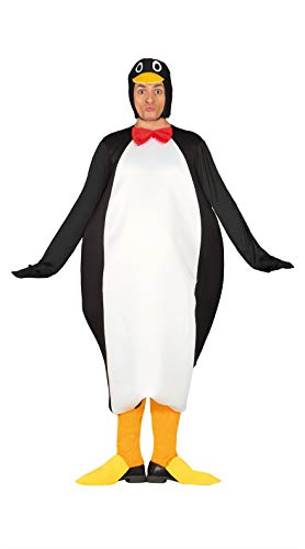 FIESTAS GUIRCA Disfraz pingüino Adulto Talla l