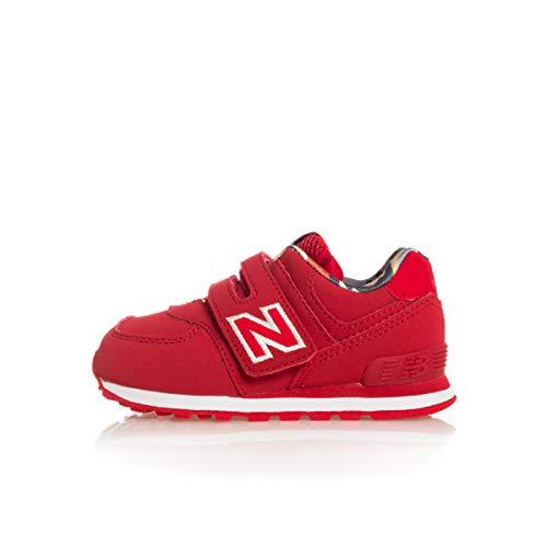 New Balance 574 Sneaker Rossa da bambino IV574GYI